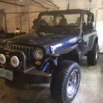 2004 Jeep TJ - New Fenders in Garage