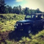2004 Jeep TJ - Bikini in the Grass
