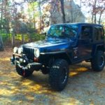 2000 Jeep TJ - Topped Driver Front