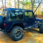 2000 Jeep TJ - Topped Passenger Side