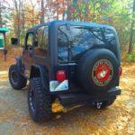 2000 Jeep TJ - Topped Rear