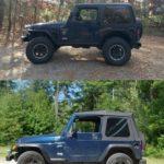 2000 Jeep TJ  - 2014 vs 2013