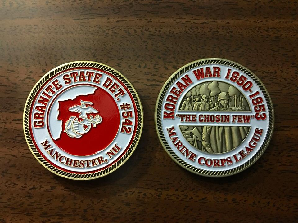 Korean War Commemorative Challenge Coin