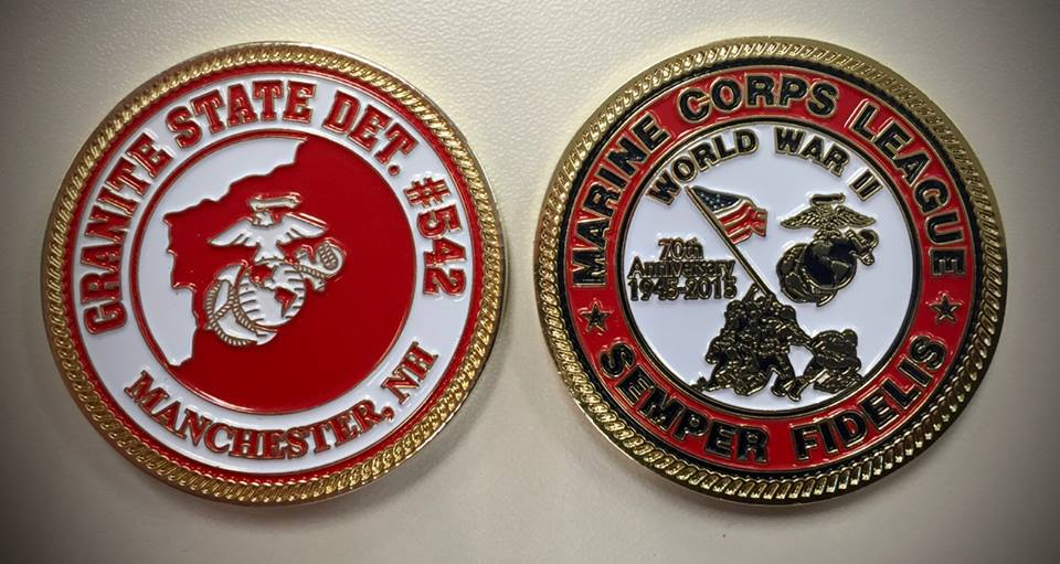 WWII Commemorative Challenge Coin