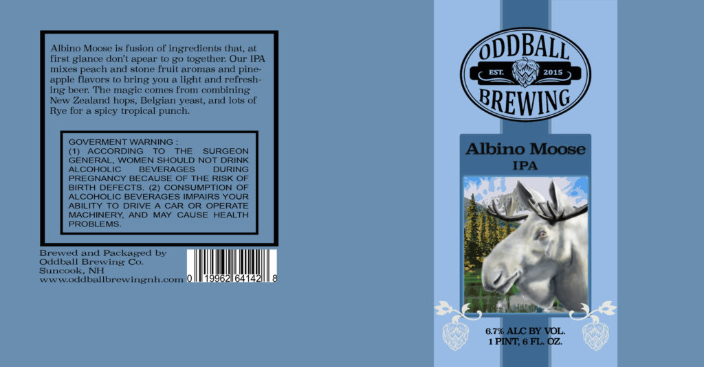 Oddball Brewing - Albin Moose IPA