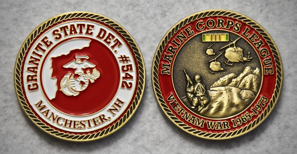 Vietnam War Commemorative Challenge Coin